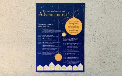 Einladung zum Adventsmarkt